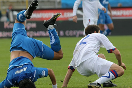 One of the most brutal fights of the year: Zenit St. Petersburg vs CSKA Moscow