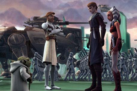 Звездные войны войны клонов фото с