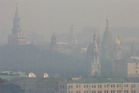 Москва в дыму. Фото <a >©AFP</a>