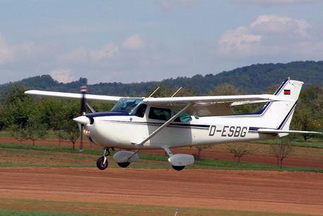 Самолет цесна 172 фотоиллюстрация с