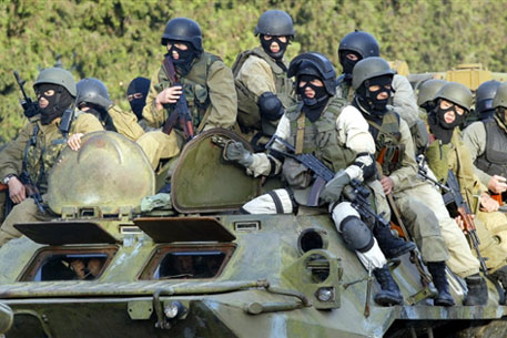 Киргизский спецназ. Фото ©AFP