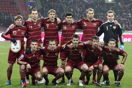 Сборная россии по футболу фото риа