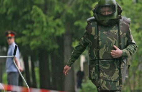 В женском монастыре в Москве обнаружили снаряд времен войны