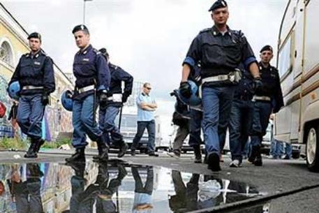 В Риме бастуют полицейские