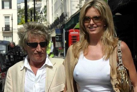 Род Стюарт и его супруга Пенни Ланкастер. Фото с сайта zar.bg