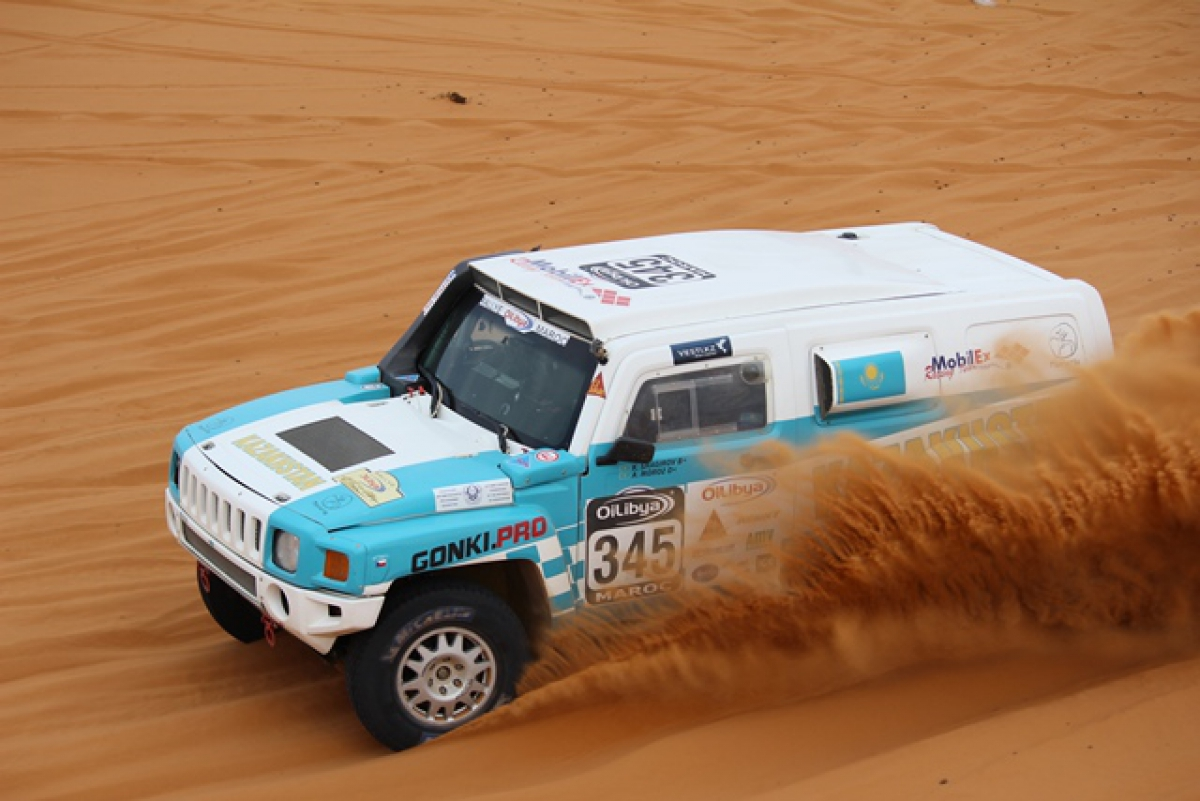H3 sulle dune AfricaRace