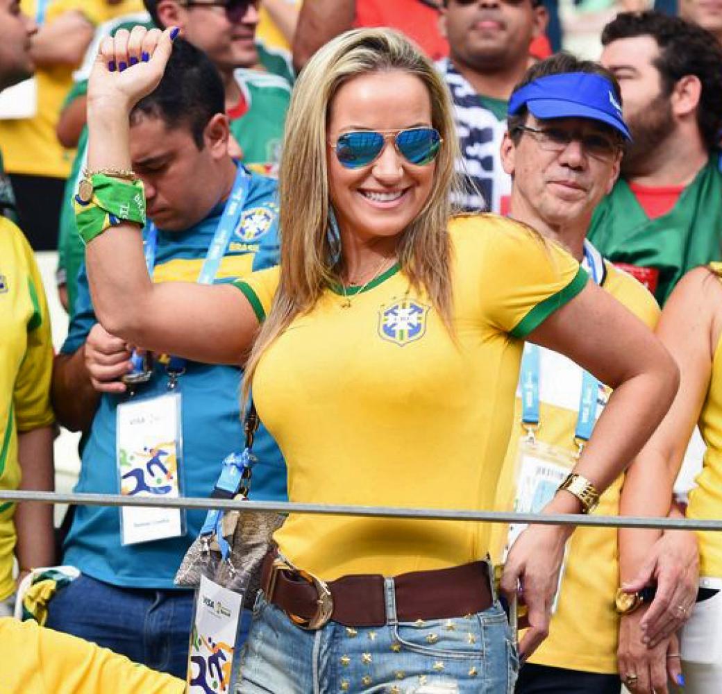 Самые сексуальные бразильские болельщицы