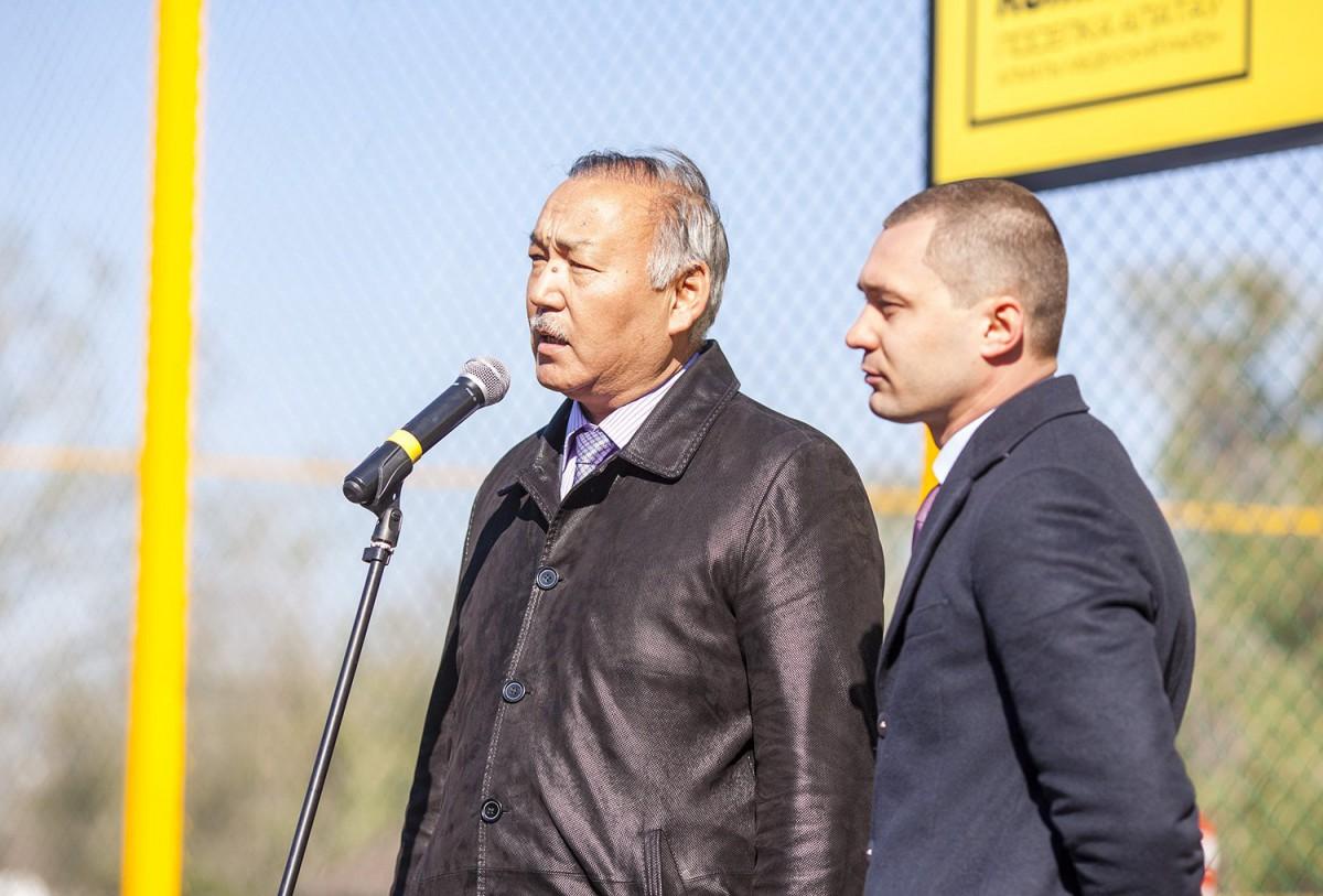Сегодня, 24 октября, в Алматы в микрорайоне Алатау прошло торжественное открытие спортивного комплекса и парковой зоны