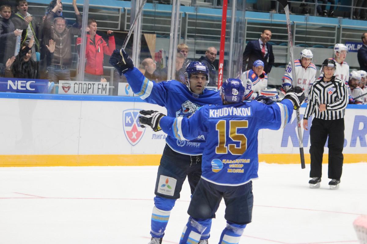 Хоккей: СКА – Барыс СКА против Барыса в Ледовом
