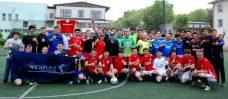 Сборная EML стала двукратным серебряным призером чемпионата Алматы среди СМИ по футболу