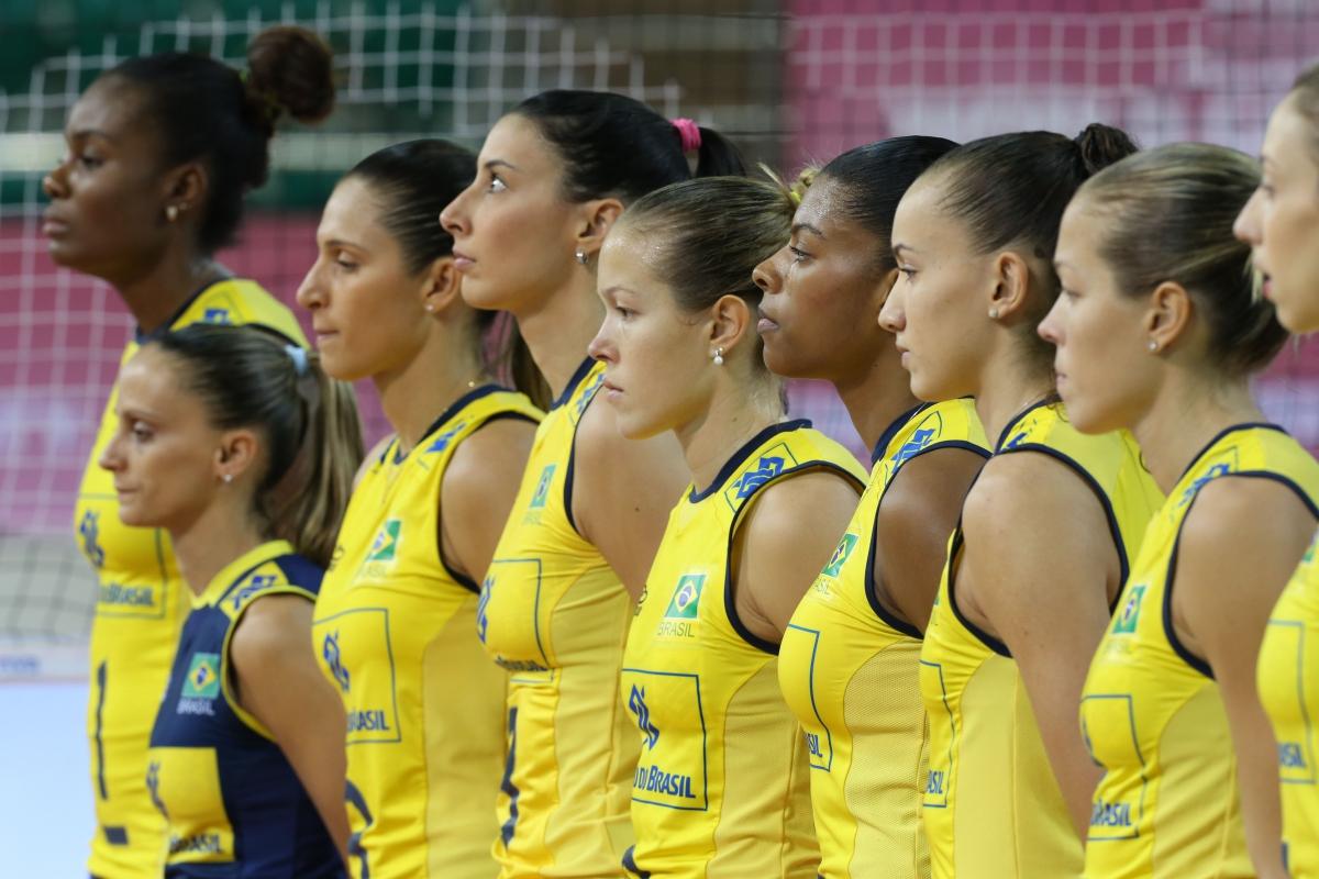 волейболистки бразильские фото