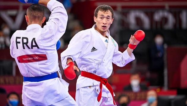 Казахстанский каратист Дархан Асадилов не смог выйти в финал и стал бронзовым призером Олимпиады