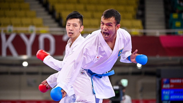 Нурканат Ажиканов одержал вторую победу на Олимпиаде