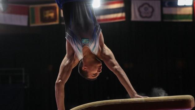 Милад Карими завоевал серебро на этапе Кубка мира по спортивной гимнастике