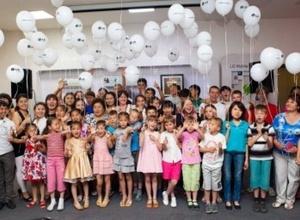 LG Electronics устроила праздник для воспитанников детских домов