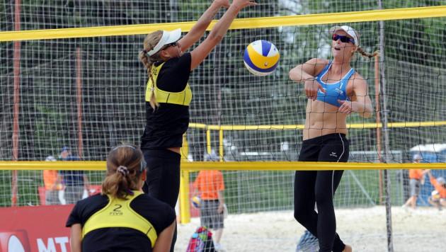 Казахстанские пляжницы потерпели второе поражение на Межконтинентальном Кубке