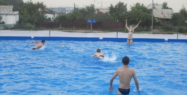 В Астане появился аквапарк на открытом воздухе