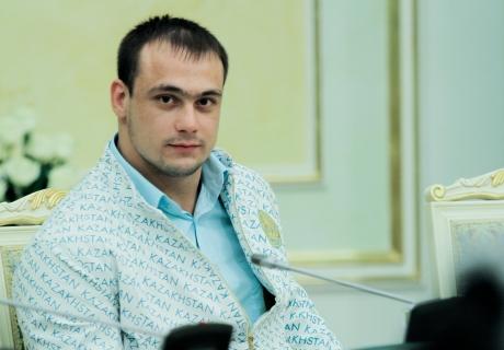 Олимпийский чемпион Илья Ильин. Фото Даниал Окасов©