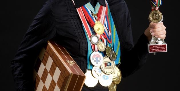 Динара Садуакасова - единственная девушка в полуфинале ЧМ по рапиду