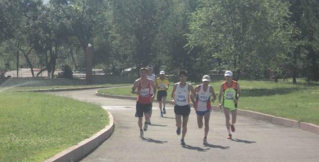 Фото: в Алматы состоялся XV международный марафон