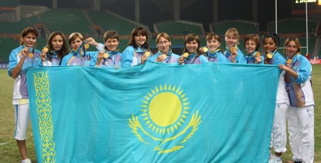Женская сборная Казахстана - восьмикратный чемпион Азии