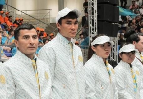Парадная форма олимпийской сборной Казахстана. Фото Даниал Окасов©