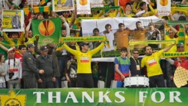 """""""Анжи"""" призвал фанатов воздержаться от пиротехники в матче Лиге Европы"""