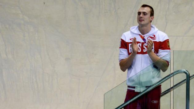 Российский пловец сделал предложение олимпийской призерке во время Игр-2012