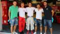 ФОТО: Винокуров, Ардавичус и Джункадэлья приняли участие в заездах на гоночной трассе