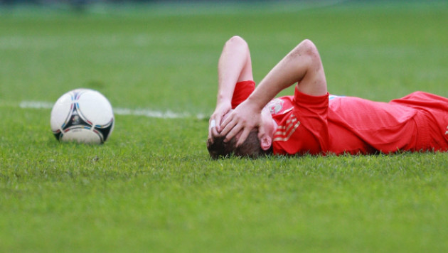 У защитника сборной России диагностировали сотрясение мозга