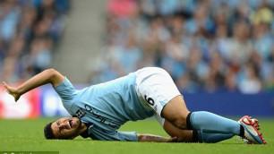 Агуэро рассказал о травме в первом матче чемпионата Англии