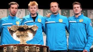 Сборные Казахстана и Узбекистана определили составы на Кубок Дэвиса