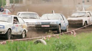 Гонщик пострадал на соревнованиях по автокроссу в Акмолинской области