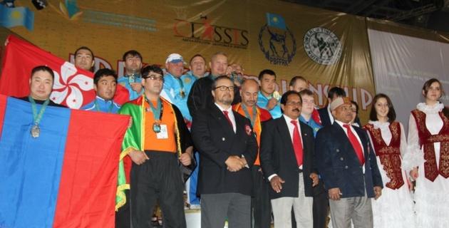 75 медалей  завоевали казахстанские силачи на чемпионате Азии по пауэрлифтингу