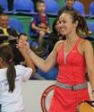 Мартина Хингис провела мастер-класс в Алматы