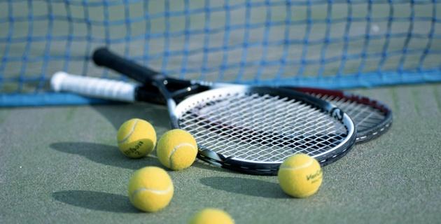 В Усть-Каменогорске открыли пять теннисных кортов