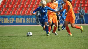 ФОТО: Финальный матч Кубка Казахстана по футболу среди женских команд