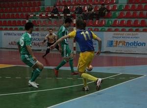 Итоги второго тура чемпионата Казахстана по футзалу