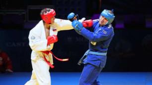В Алматы пройдет чемпионат мира по рукопашному бою