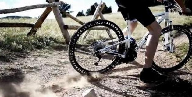 Безвоздушные шины для велосипедных колес