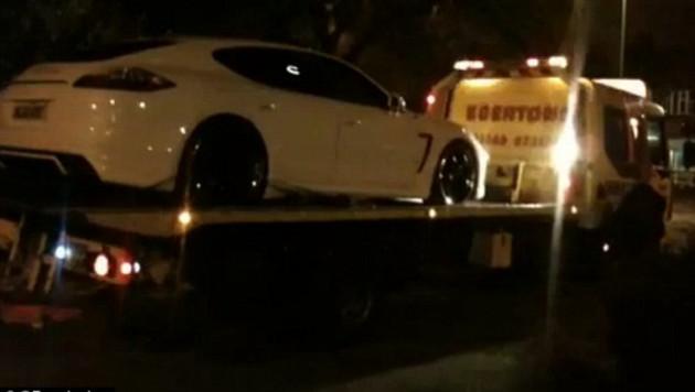 Полиция Манчестера конфисковала машину Карлоса Тевеса (+видео)