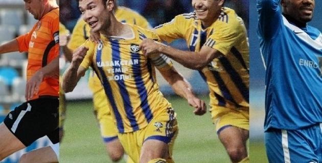 Определены 33 лучших футболиста Казахстана