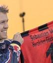 Феттель стал почетным членом своего любимого футбольного клуба