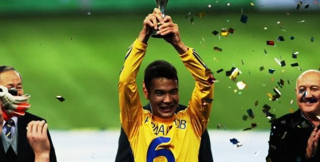 Нурдаулетов признан лучшим игроком чемпионата Казахстана-2012