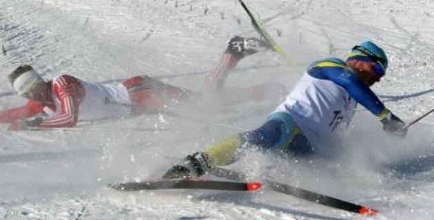 Казахстанские лыжники выиграли командный спринт на этапе Кубка мира