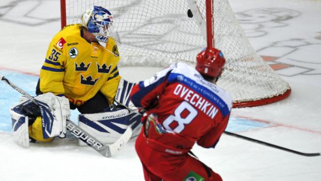 Россия разгромила Швецию в матче Кубка Первого канала