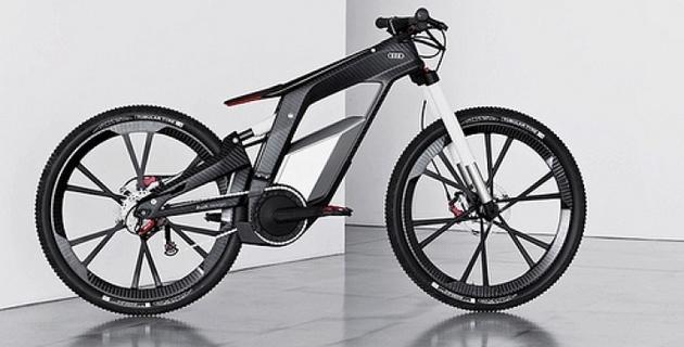 Электрический велосипед от Audi