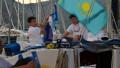 Сборная Казахстана приняла участие в парусной регате Ocean Medi Cup