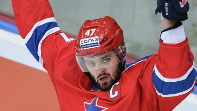 Александр Радулов заболел перед матчем КХЛ