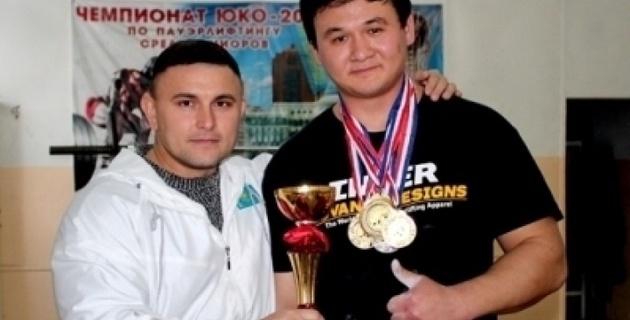 Шымкентский силач стал чемпионом Азии